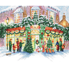 Набор для вышивания LETISTITCH Christmas Shop LETI 914
