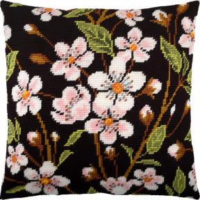 Набор для вышивки подушки Чарівниця Вишнёвый цвет V-252 фото