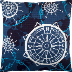 Набор для вышивки подушки Чарівниця Навигация V-258 фото