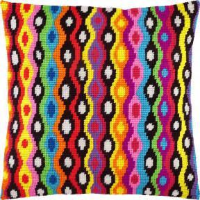 Набор для вышивки подушки Чарівниця Боливия V-266