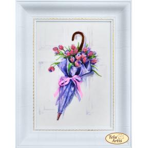 Набор для вышивания бисером Tela Artis НВ-008 Зонт