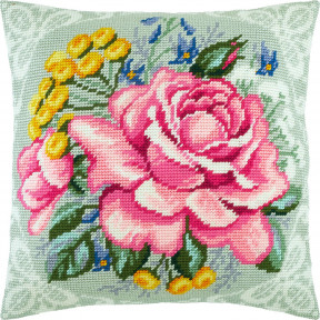 Набор для вышивки подушки Чарівниця Весенний букет V-273