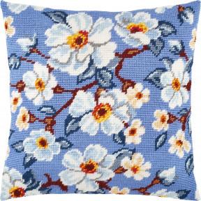 Набор для вышивки подушки Чарівниця Яблоневый цвет V-281
