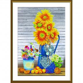 """Набор для вышивания крестом Нова Слобода """"Солнце в вазе"""" СР-2257"""