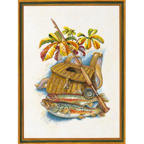 """Набор для вышивания Eva Rosenstand """"Рыбалка (Fishing)"""" 12-945"""