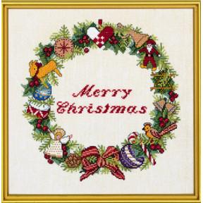 Набор для вышивания Eva Rosenstand Merry Christmas 12-867 фото