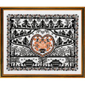 Набор для вышивания Eva Rosenstand Silhouette 12-495 фото