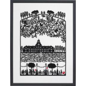 Набор для вышивания Eva Rosenstand Papercut Castle 14-371 фото