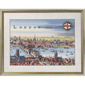 Набор для вышивания Eva Rosenstand London 12-353 фото