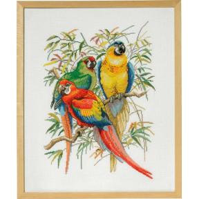 Набор для вышивания Eva Rosenstand Parrots 72-292 фото