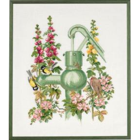 Набор для вышивания Eva Rosenstand Waterpump 74-135 фото