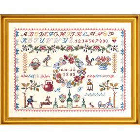 Набор для вышивания Eva Rosenstand Sampler 12-007 фото
