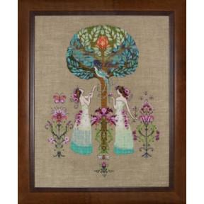 Схема для вышивания Mirabilia Designs Tree of Hope MD109