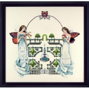 Схема для вышивания Mirabilia Designs Spring Topiary Garden MD110