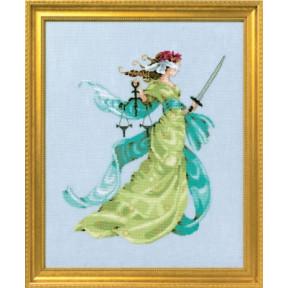 Схема для вышивания Mirabilia Designs Lady Justice MD160