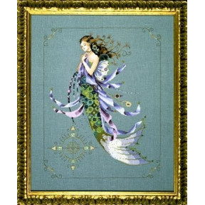 Схема для вышивания Mirabilia Designs Shimmering Mermaid MD71