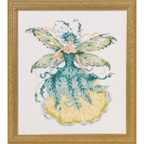 Схема для вышивания Mirabilia Designs March Aquamarine Fairy