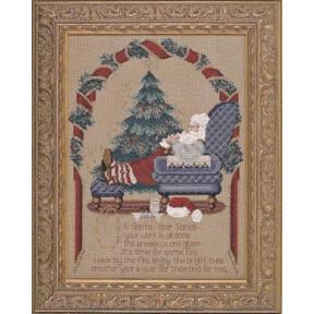 Схема для вышивания  Lavender Lace Secret Santa LL54