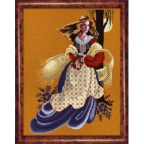 Схема для вышивания  Lavender Lace Evangeline LL61
