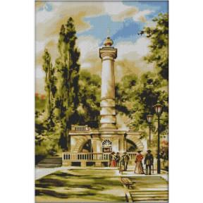 """Набор для вышивки крестом Dantel """"Киев.Памятник Магдебургскому"""