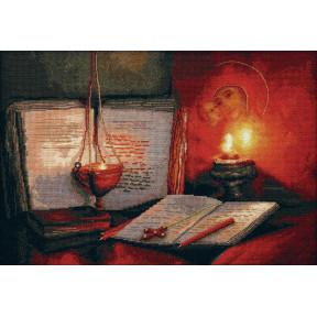 """Набор для вышивки крестом Чарівна Мить """"Святые писания"""" М-377"""