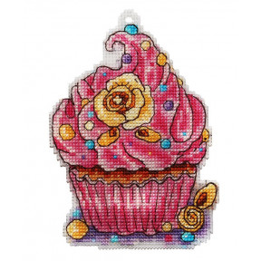 Набор для вышивки крестом Alisena Пироженко – Розовая фантазия 8015а