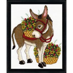 Набор для вышивания Design Works Donkey 3373