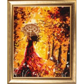 Набор для вышивания бисером Butterfly Прогулка в лесу 826