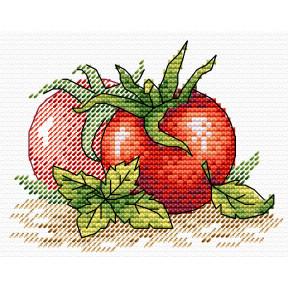 Набор для вышивки крестом МП Студия Спелый томат М-435