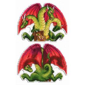 Набор для вышивки крестом МП Студия Змей Горыныч Р-405