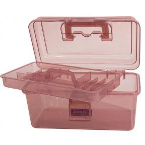 """Коробка-органайзер """"М"""" Розовая Bohin (Франция) 98786"""