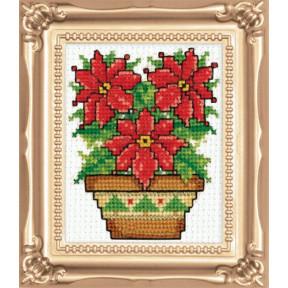 Набор для вышивания Design Works Poinsettia 594