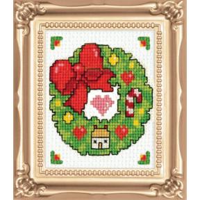 Набор для вышивания Design Works Wreath 593