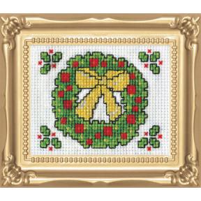 Набор для вышивания Design Works Wreath 518