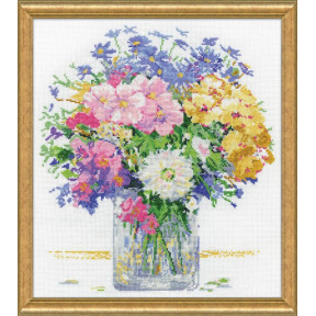 Набор для вышивания Design Works Pastel Floral 3265