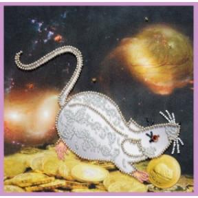 Набор для вышивания Картины Бисером Символ года Крыса  P-416