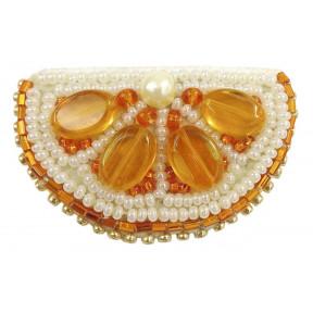 """Набор для изготовления броши Crystal Art """"Апельсин"""" БП-239"""