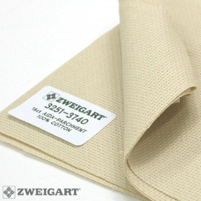 Канва Zweigart 16 (1м. х 1,5 м) бежевая 3251/3740