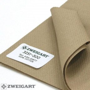 Канва Zweigart 16 ( 1.5 м х 1м ) кофейный 3251/300
