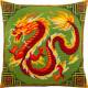 Набор для вышивки подушки Чарівниця  Китайский дракон V-291