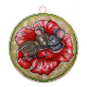 Набор для вышивки крестом Alisena Новогодняя – Сладкий сон