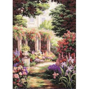 Набор для вышивания крестом Classic Design Цветочный дворик 4480