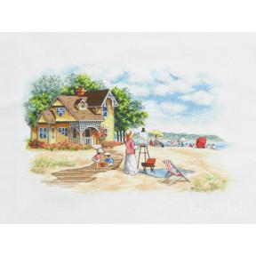 Набор для вышивания крестом Classic Design Дом на берегу 4478