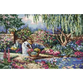Набор для вышивания крестом Classic Design Любимый сад 4481
