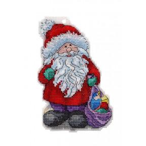 Набор для вышивки крестом Alisena Дед Мороз 8030а фото