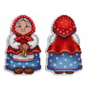 Набор для вышивки крестом МП Студия Бабушка Р-468