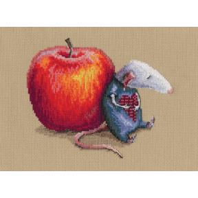 """Набор для вышивки крестом RTO """"Влюбился мышь однажды"""" M799"""