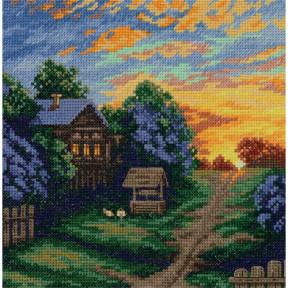 Набор для вышивки крестом Panna Весенние краски ПС-7163