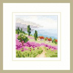 Набор для вышивки крестом Алиса Лаванда у моря 0-200 фото