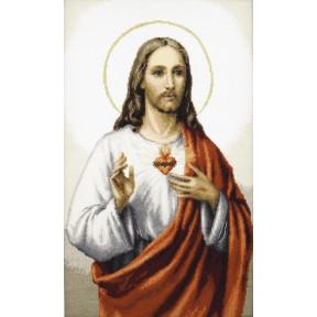 """Набор для вышивки крестом Чарівна Мить """"Иисус"""" М-402"""